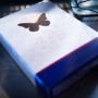 Butterfly Playing Cards Marked, Blue by Ondrej Psenicka